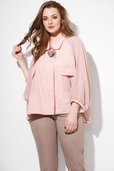 Блузка Anna Majewska 1078 светло-розовый