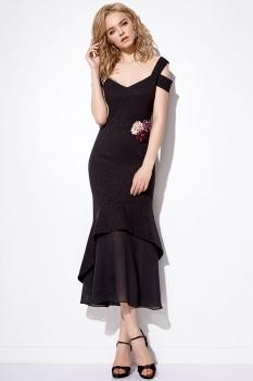 Платье Anna Majewska 1090-1 черный