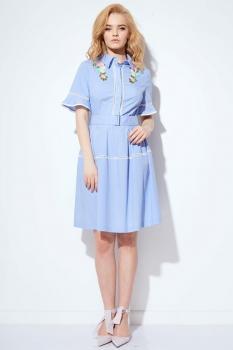 Платье Anna Majewska 1096 голубой