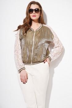 Куртка Anna Majewska 1105-1 золотистый