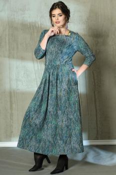 Платье Anna Majewska 1903-3 оттенки зеленого