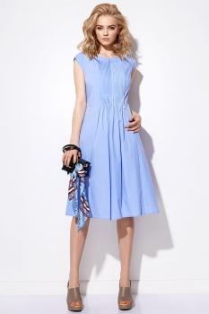 Платье Anna Majewska 2903 голубой
