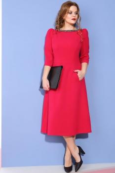 Платье Anna Majewska 957 оттенки красного