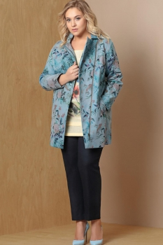 Куртка Artribbon-Lenta 2628K7001_1-1 бирюза