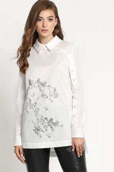 Блузка Artribbon-Lenta 2796T5001 белый