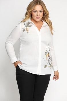 Блузка Artribbon-Lenta 2820T5001 белый