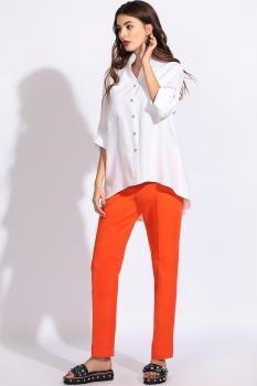 Блузка Artribbon-Lenta 2881T5001 белый