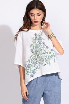 Блузка Artribbon-Lenta 2882T5001 белый
