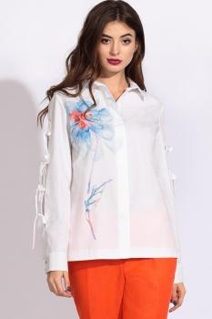 Блузка Artribbon-Lenta 2896T5001 белый