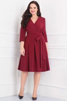 Платье Асолия 2343-1 марсало