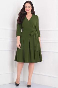 Платье Асолия 2343-2 хаки