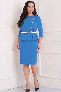 Платье Асолия 2344-1 голубой
