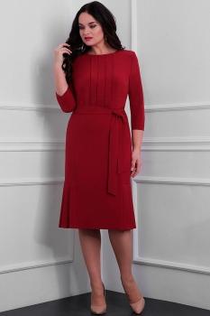 Платье Асолия 2349-1 красный