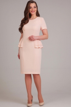 Платье Асолия 2354-1 пудра