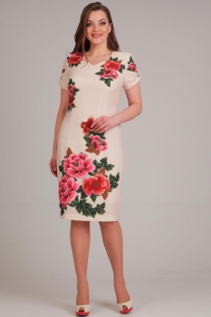 Платье Асолия 2362 нежно-розовый