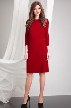 Платье Axxa 54055 марсала
