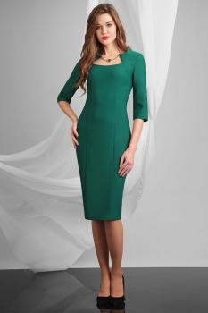 Платье Axxa 54057 оттенки зеленого