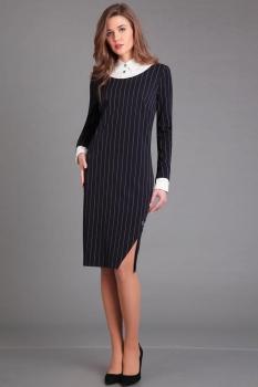 Платье Axxa 54070 полоски