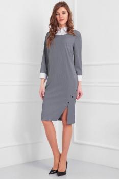 Платье Axxa 54070а серые тона