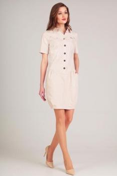 Платье Axxa 54086-1 горохи
