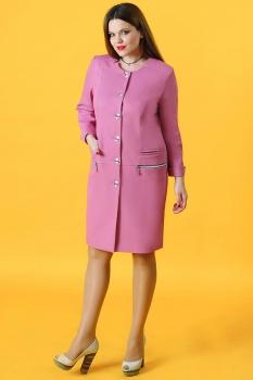 Пиджак Axxa 82694 розовые тона