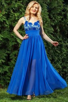 Платье Azzara 406С василек