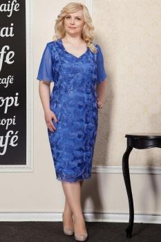 Платье Azzara 417с василек