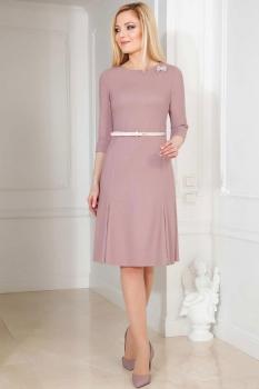 Платье Azzara 470 пудра