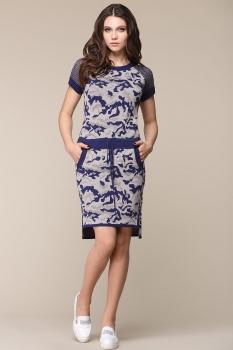 Платье Barbara Geratti By Elma 2609-1 синий