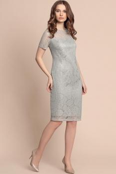 Платье Bazalini 2808-1 Серый