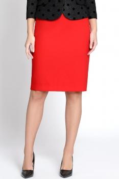 Юбка Bazalini 2879-2 Красный
