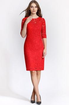 Платье Bazalini 2890-1 Красный