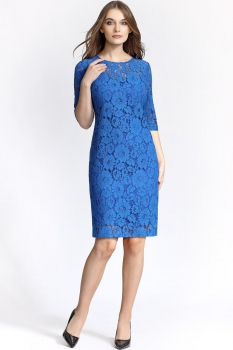 Платье Bazalini 2890 Синий