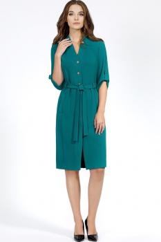 Платье Bazalini 2895-1 Бирюза