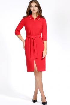 Платье Bazalini 2916-1 Красный