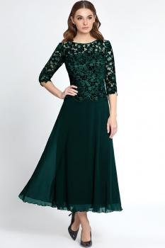 Платье Bazalini 2984 Зеленый