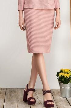 Юбка Bazalini 3053-1 Розовый