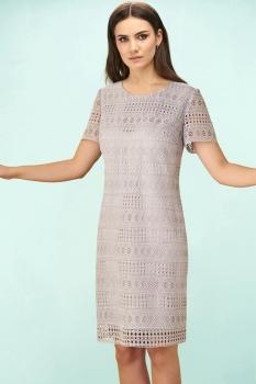 Платье Bazalini 3175 светло-серый