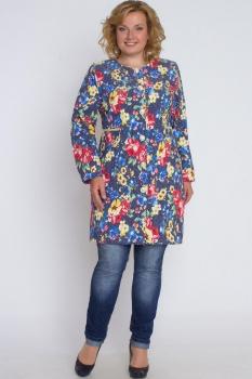 Плащ Bonna Image 14108-1 Цветной джинс