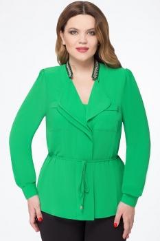 Блузка Дали 1367-1 зеленый
