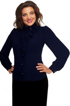 Блузка Дали 3041-5 темно-синий