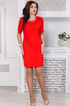 Платье Дали 3098 красный
