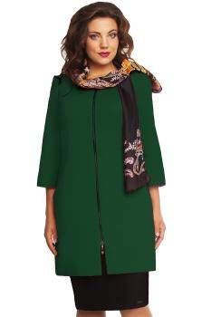 Пальто Дали 578-3 зеленый