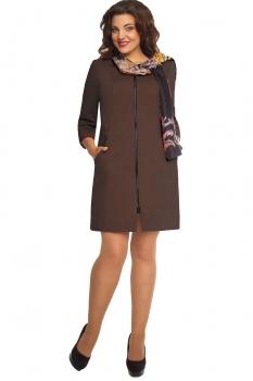 Пальто Дали 578-4 коричневый