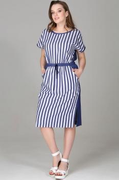 Платье Deesses 1092 полоска