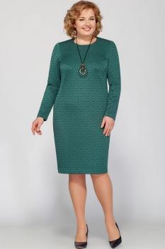 Платье Deesses 1134-2 оттенки зелёного