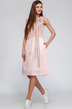 Платье Deesses 1221 светло-розовый