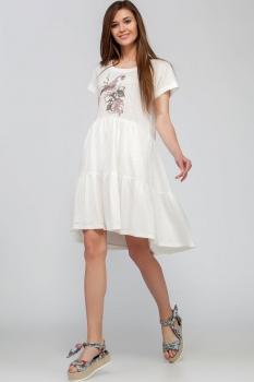 Платье Deesses 1224 белый