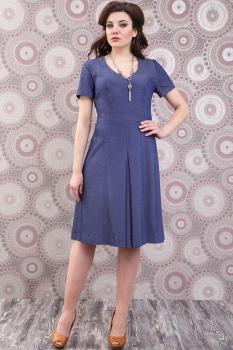 Платье Deesses 949 синий джинс