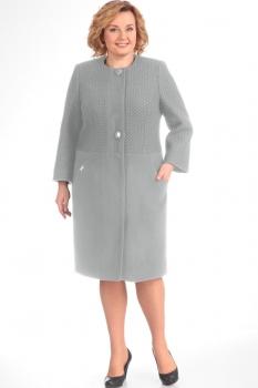 Пальто Диамант 1154-1 серый
